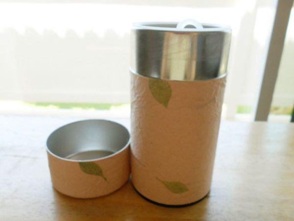 松崎和紙 茶筒