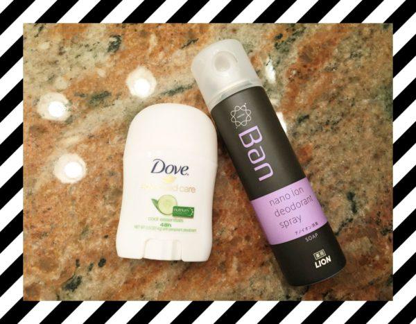汗、シミを防ぐ、制汗剤