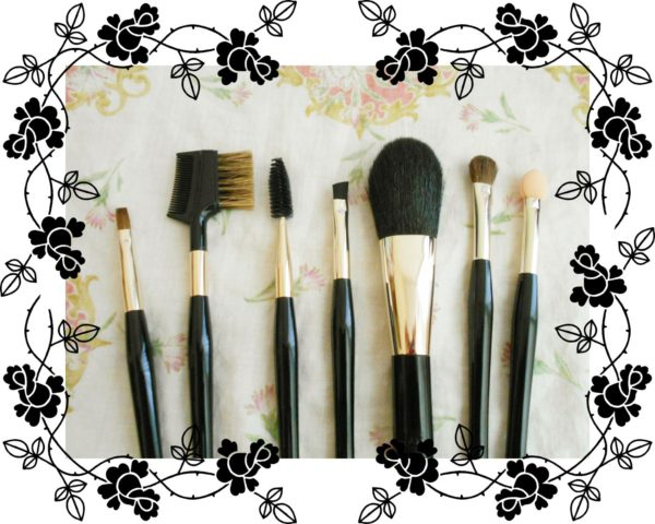 熊野筆、化粧筆