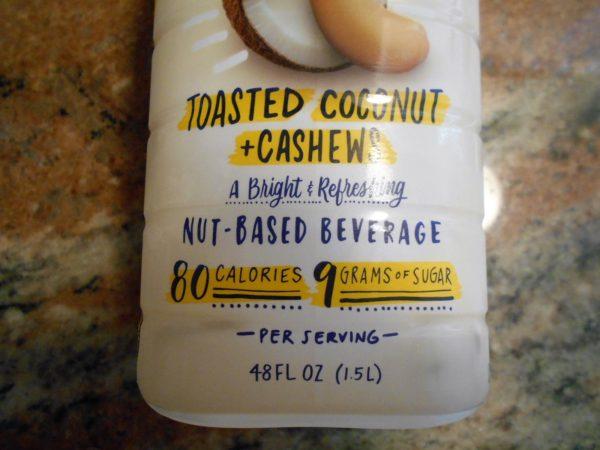 ココナッツ、カシュ―ミルク