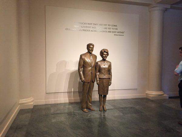 レーガン元大統領の博物館