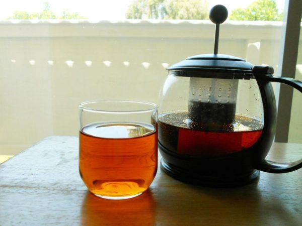 ルイボスティーの効能 カフェインレス茶